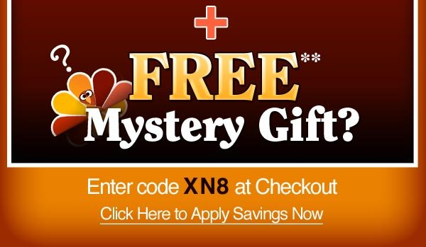 FREE* Mystery Gift