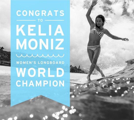 Congrats to Kelia Moniz - Women's World Champion