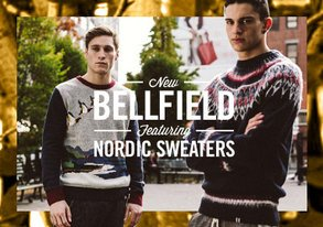 Shop New BellField ft. Nordic Sweaters