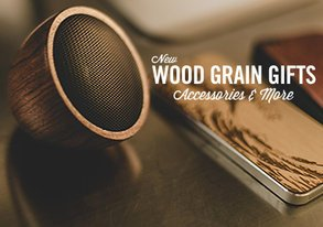 Shop Wood Grain Gifts, Accessories & More