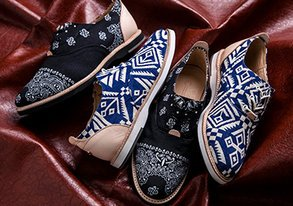 Shop Thorocraft Shoes ft. Tribal Prints