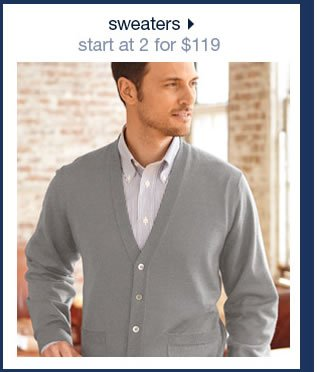 Sweaters: Start At 2 For $199