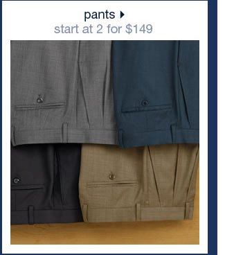 Pants: Start At 2 For $149