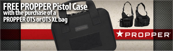 Free PROPPER Pistol Case with the purchase of a PROPPER OTS I or OTS II