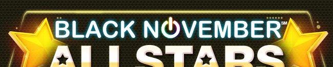 BLACK NOVEMBER ALLSTARS