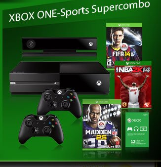 XBOX ONE-sports combo