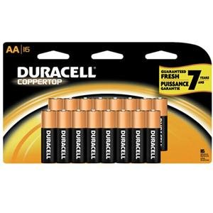 Adorama - Duracell Coppertop AA Batteries 16 Pack