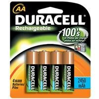 Adorama - Duracell AA Rechargeable Batteries 4 Pack