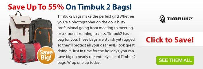 Adorama - Save Up To 55% On Timbuk2 Bags