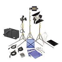 Adorama - Lowel DV Creator 1 Kit, Analog & Digital Video Lighting Location Kit