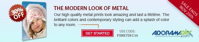 Adorama - Save 30% On Metal Prints From AdoramaPix