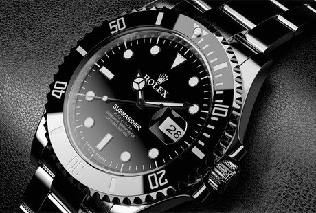 Custom Black Rolexes