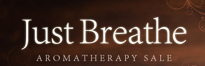 Just Breathe Aromatherapy Sale