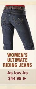 Womens Ultimate Riding Jeans on Sale