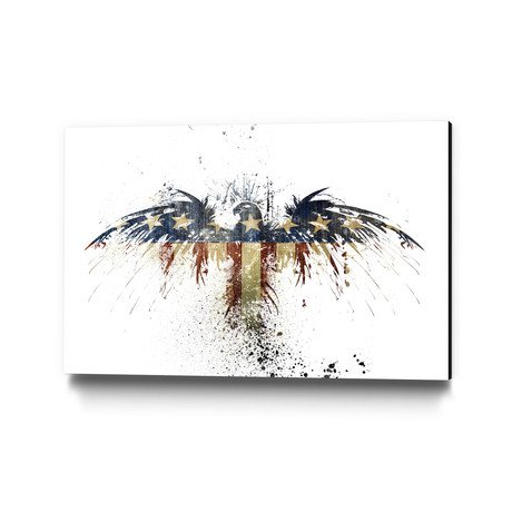 Eagles Become Museum Mounted Canvas