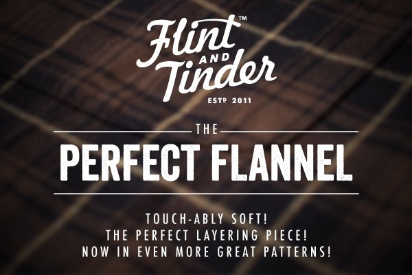 THE PERFECT FLANNEL - Touch-ably Soft! The perfect layering piece!
