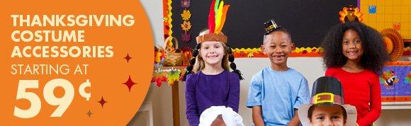 Thanksgiving Costume Accessories