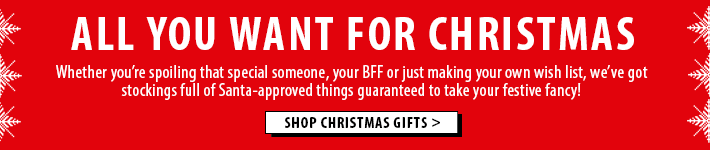 Time to shop for Christmas - shop now