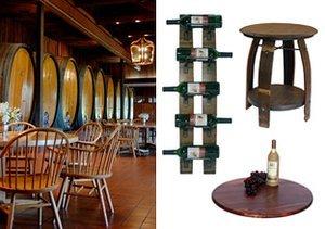 Wine Barrel Oak Furniture