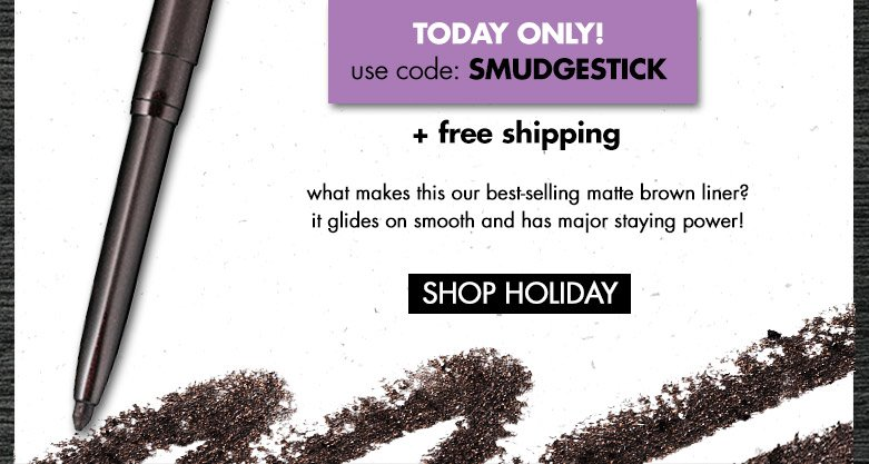 today only! usecode: SMUDGESTICK