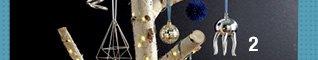matte blue facet ornament 3.16 reg 3.95