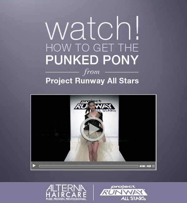 Watch! Alterna's Punked Pony from Project Runway All Stars