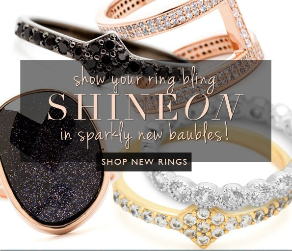 Shine On In New Sparkly Baubles