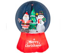 Gemmy Inflatable Snow Globe