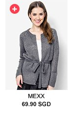MEXX Cloud Grey Cardigan