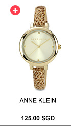 ANNE KLEIN Classic Ladies Leather Watch