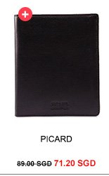 PICARD Brooklyn Passport Wallet