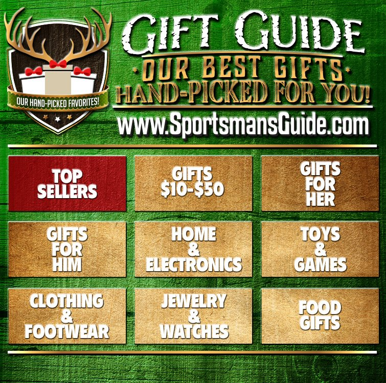 Sportsman's Guide Holiday Gift Guide