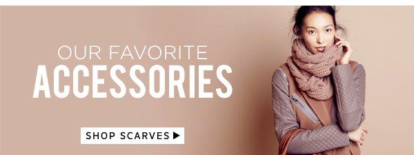 Our Favorite Accessories: Shop Scarves