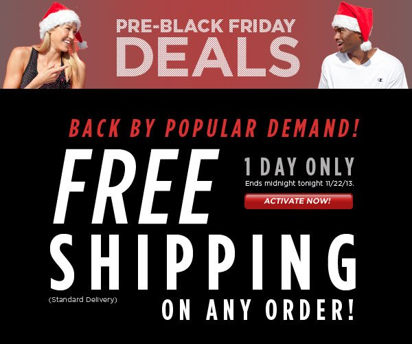 SHOP Today, Free Shipping
