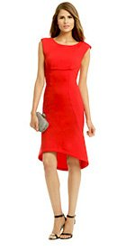 TRACY REESE - Rouge Trumpet Dress