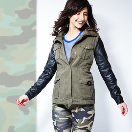 Modern in Military: Women's Apparel