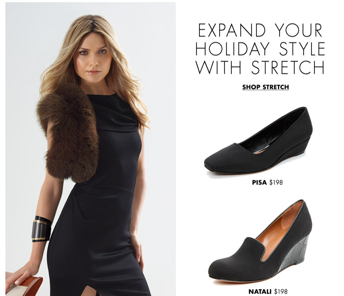 Expand Your Holiday Style with Stretch
