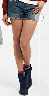 Tomboy Raw Edge Shorts