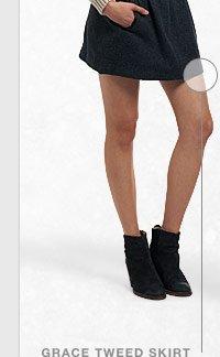 Grace Tweed Skirt