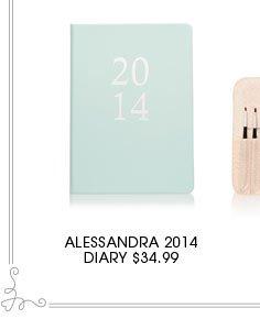 ALLESANDRA 2014 DIARY