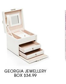 GEORGIA JEWELLERY BOX