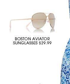 BOSTON AVIATOR SUNGLASSES