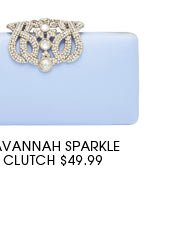 SAVANNAH SPARKLE CLUTCH