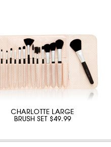 CHARLOTTE LARGE BRUSH SET