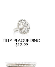 TILLY PLAQUE RING