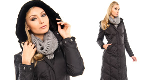 Tahari Puffer Jackets