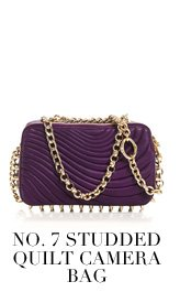 No. 7 Studded Quilt Camera Bag
