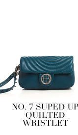 No. 7 Suped Up Quilted Wristlet