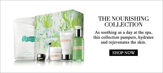 the  nourishing collectionAs soothing as a day at the spa, this collection  pampers, hydrates and rejuvenates the skin. Shop Now