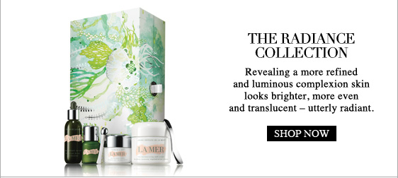 the  radiance collection Revealing a more refined and luminous complexion  skin looks brighter, more even and translucent – utterly radiant.  Shop Now